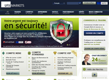 Capture d'écran de UFX Markets